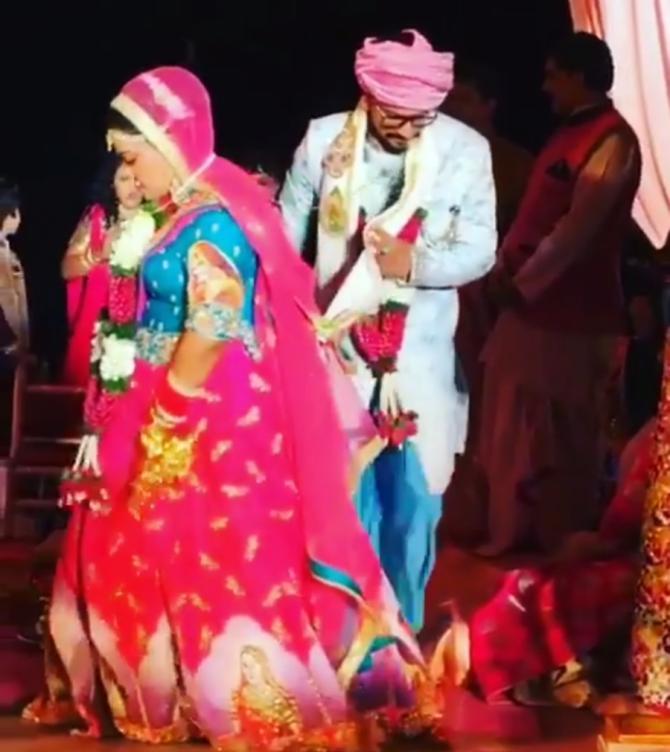 Bharti Haarsh Wedding