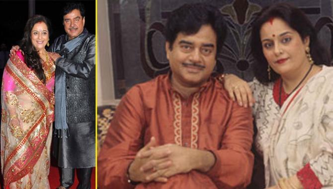 Shatrughan Sinha Poonam Marriage
