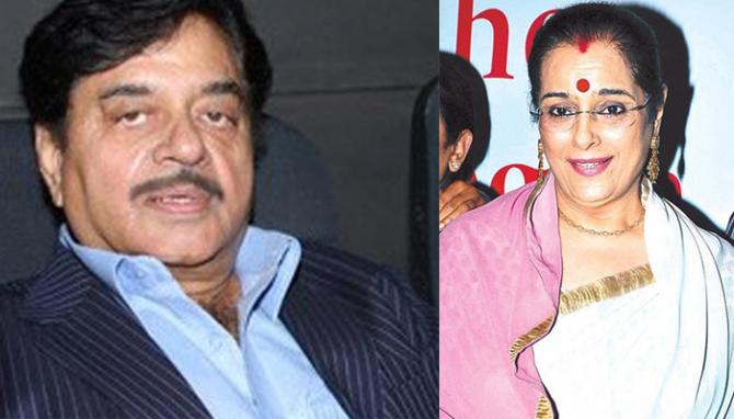 Shatrughan Sinha Poonam Sinha