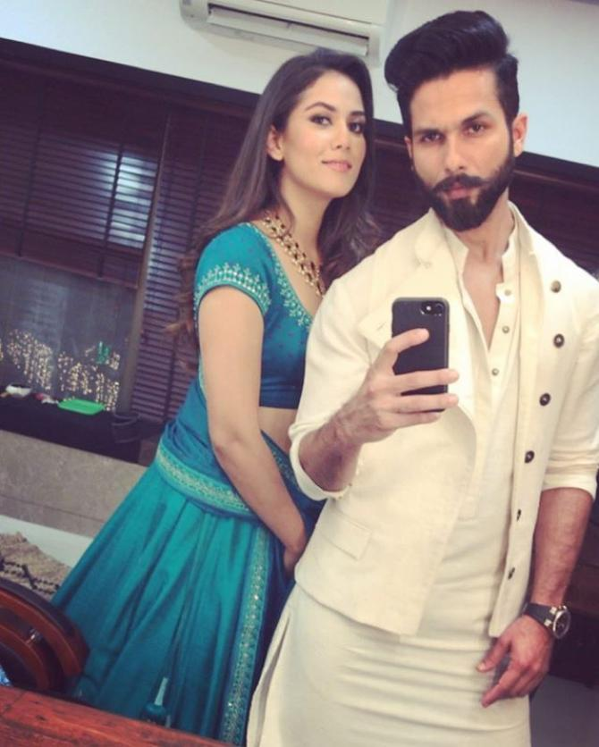 Shahid dating nargis dance