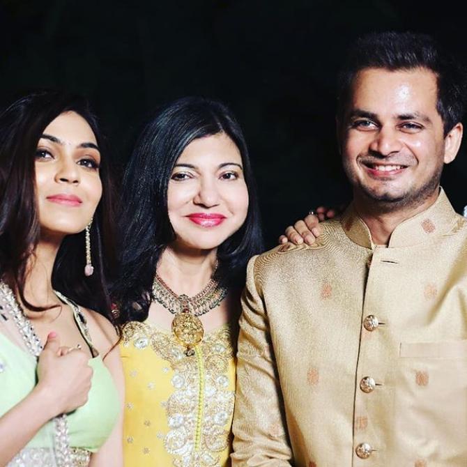 Alka Yagnik Daughter Wedding