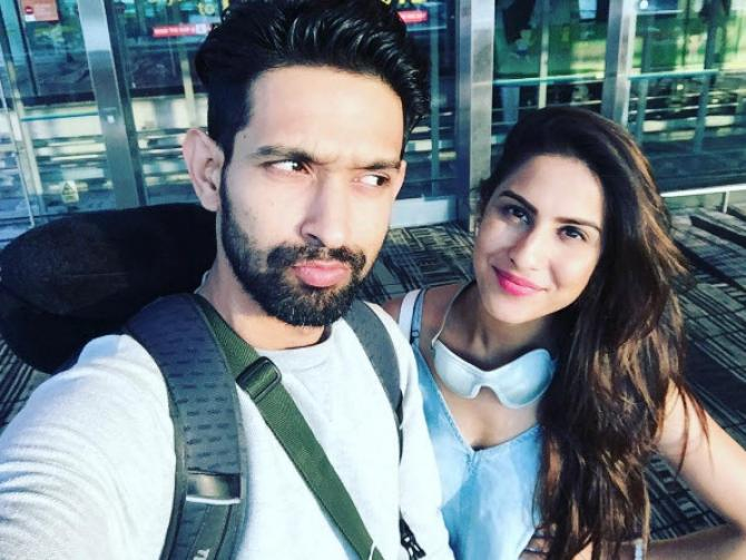 Tv Heartthrob Vikrant Massey Is Madly In Love With This Hottie