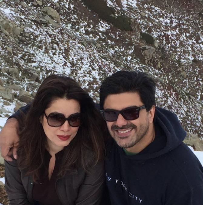 Samir Soni and Neelam Kothari