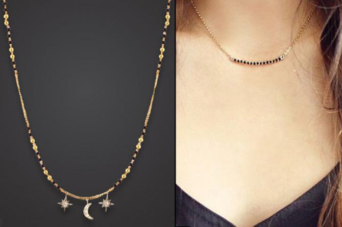10 stunning styles of mangalsutra for stylish indian brides for Daily design news