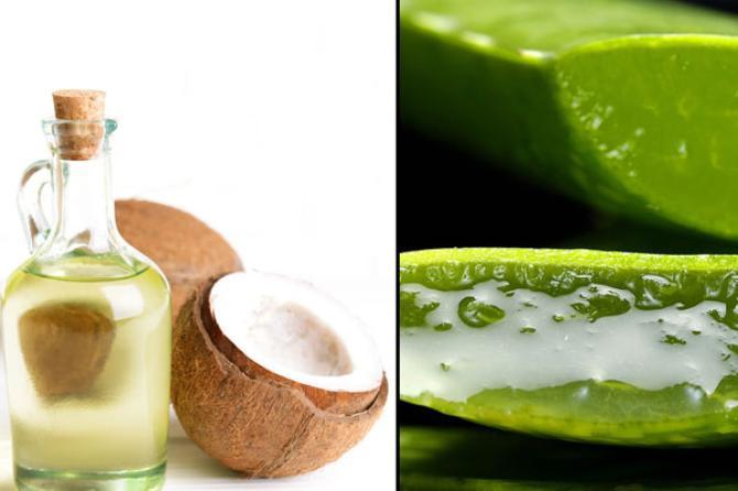 Mặt nạ dầu dừa và nha đam vừa dưỡng ẩm, vừa chống nắng hiệu quả
