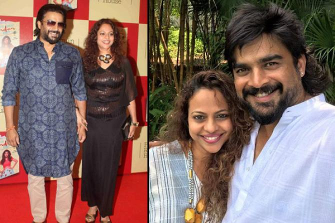 Image result for madhavan wife