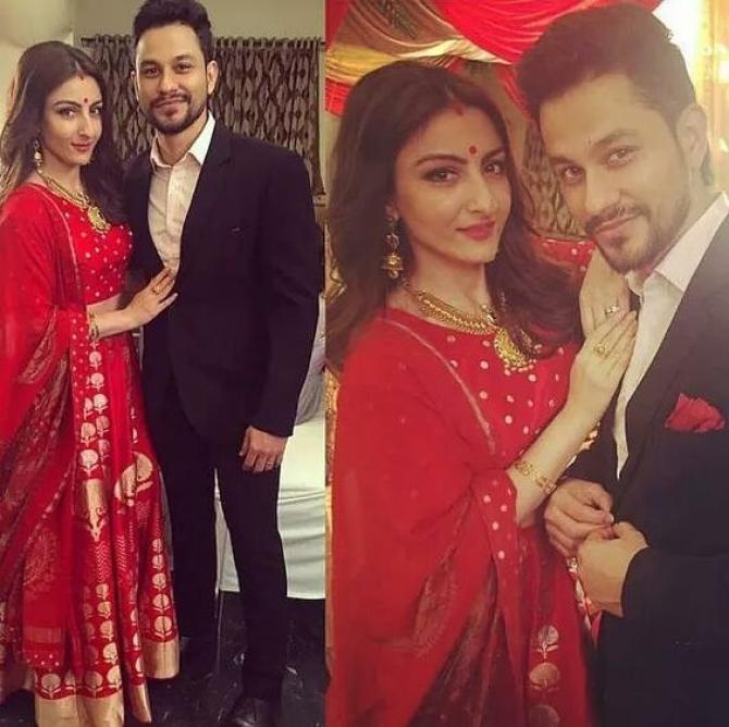Have A Look Back At The Wedding Story Of Soha Ali Khan And Kunal Khemu
