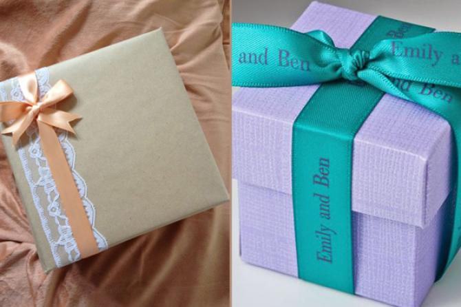 5 Customised Packing Ideas For Your Wedding Gifts