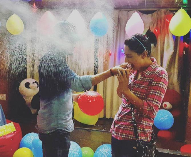 Shivya Pathania Gave A Beautiful Surprise To Boyfriend