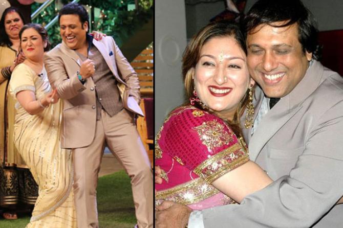 Govinda and Sunita Ahuja