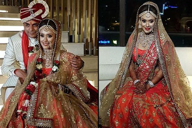 Pakistani Celebrity Couples Wedding  Fashion With Qurrat