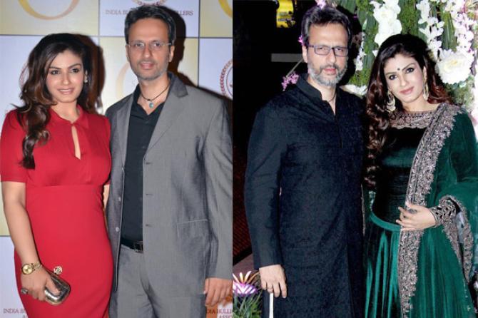 Anil Thadani, Natasha Sippy and Raveena Tandon