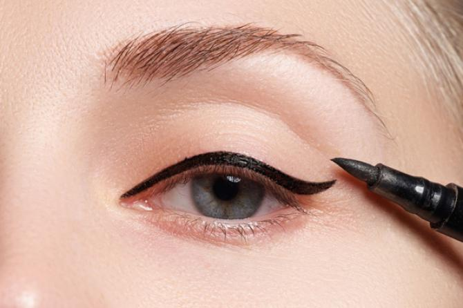 how to make the perfect eyeliner wing