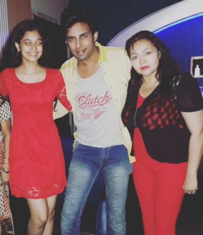 Rahul Raj Singh With Sahila
