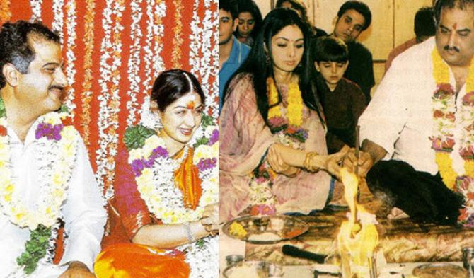 Image result for sridevi marriage photo