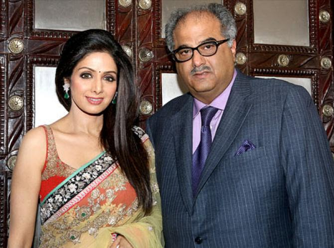 Image result for boney kapoor and sridevi
