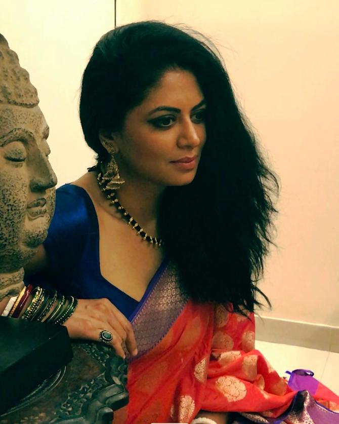 Her Kavita To Fame Actress Kaushik