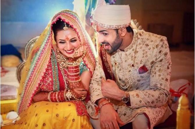 Divyanka Tripathi Vivek Dahiya Wedding / The Wedding Story
