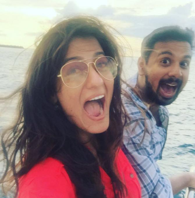 Namit Das and Shruti Vyas