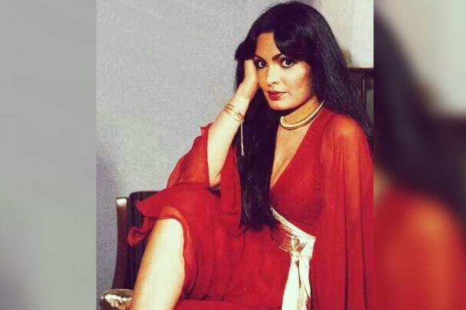 Parveen Babi Pinterest