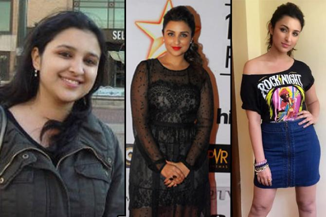 Actress formerly thin now chubby