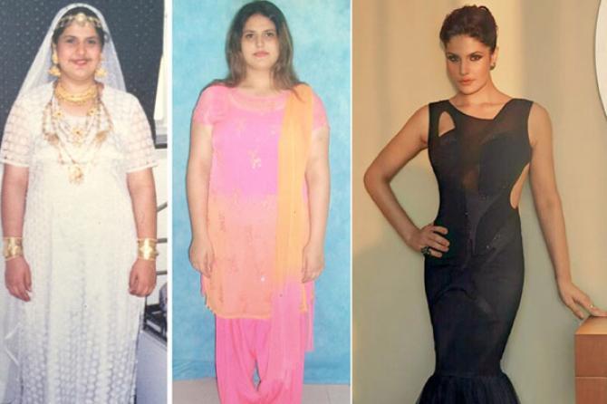 Zareen Khan weigth loss