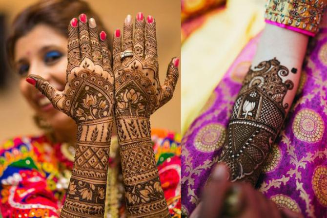 Mehendi Ceremony Meaning : Creative ways to add your be husband s name in