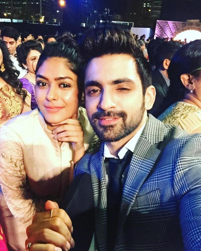 mrunal thakur and arjit taneja dating after divorce