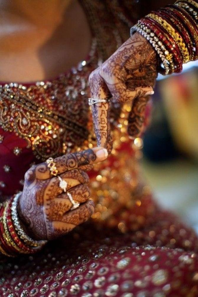 Mehendi designs for brides