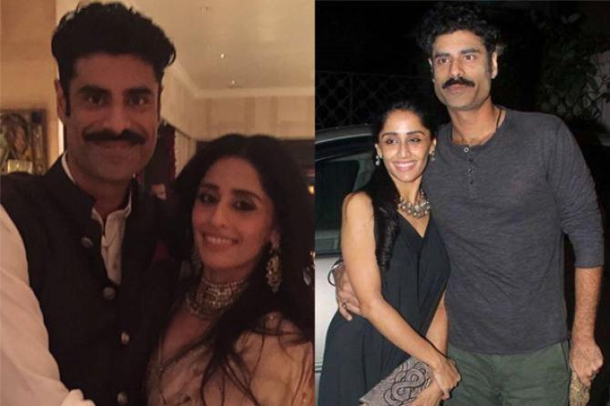Sikander Kher and Priya Singh