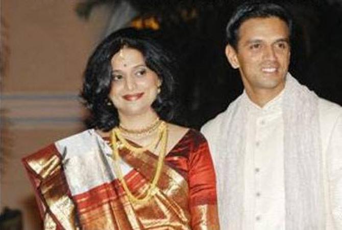Adorable Love Story Of Rahul Dravid And Dr Vijeta Pendharkar