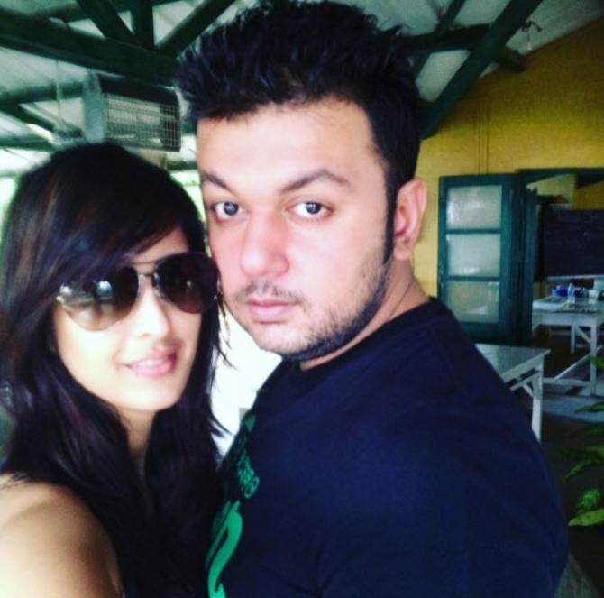 Chahatt Khanna and Farhan Mirza