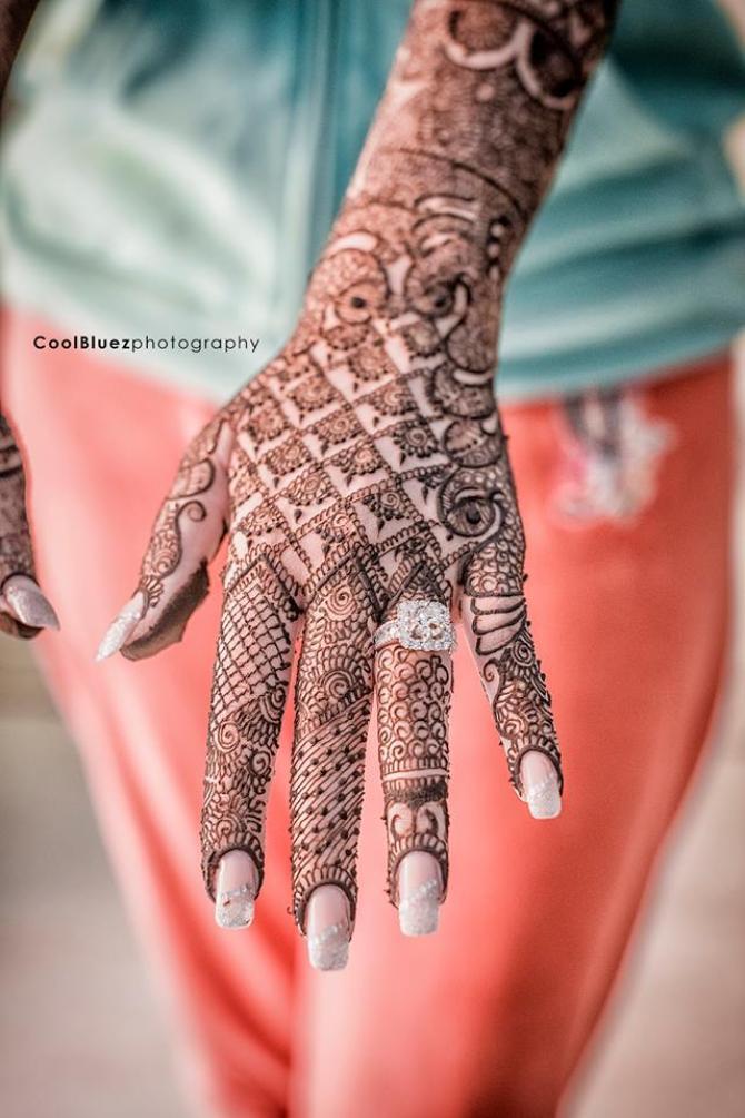 Mehendi Design Coolbluez Photography