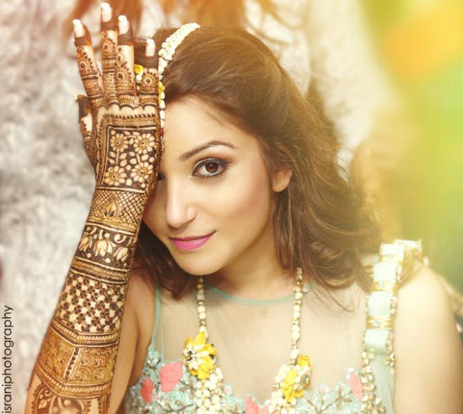 mehendi design Israni Photography