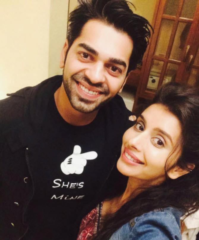 Neeraj Malviya and Charu Asopa