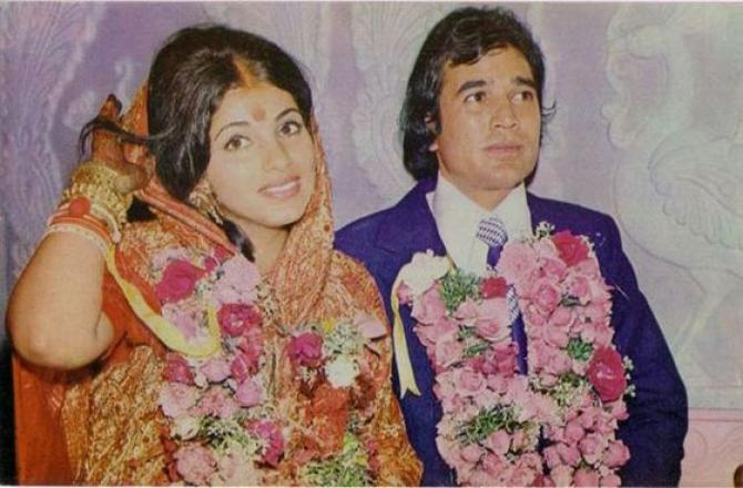 Image result for dimple kapadia wedding
