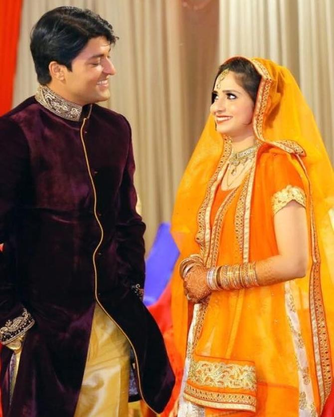 Anas Rashid Heena Marriage