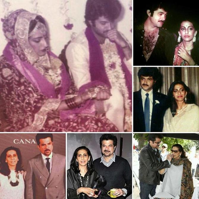 Anil Kapoor Sunita Kapoor