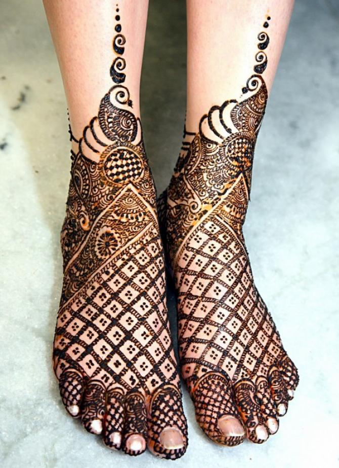 9 Unique Creative Mehendi Designs For Feet That All Brides Can Sport On Their D Day Weddings Indiawest Com