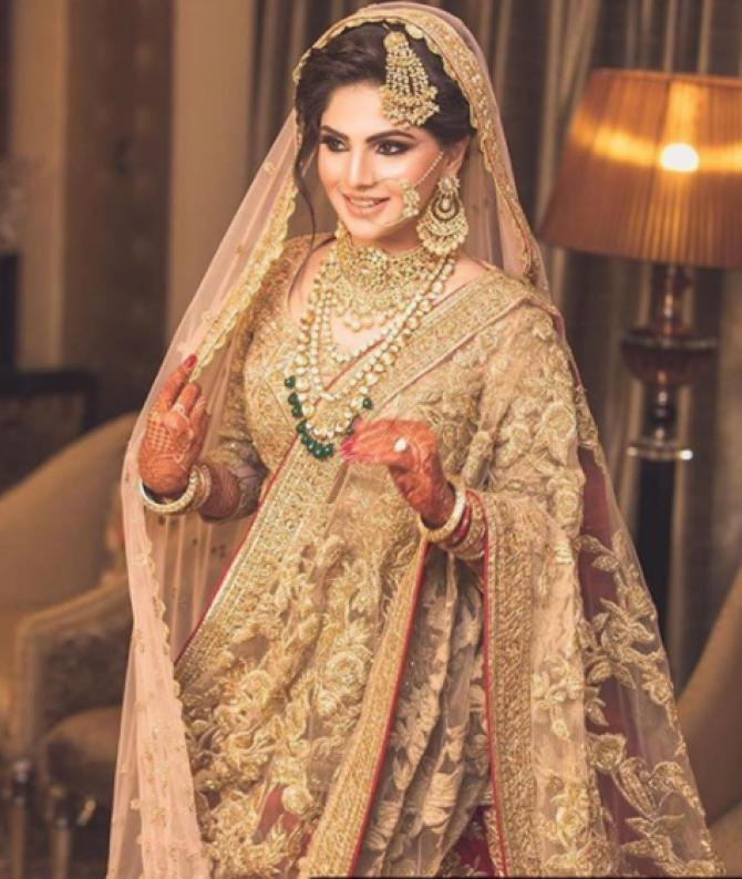 Wedding Gowns For Muslim Brides: From Head To Toe, This Muslim Bride Recreated Anushka's