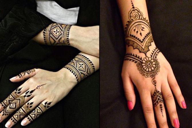 moroccan mehendi designs