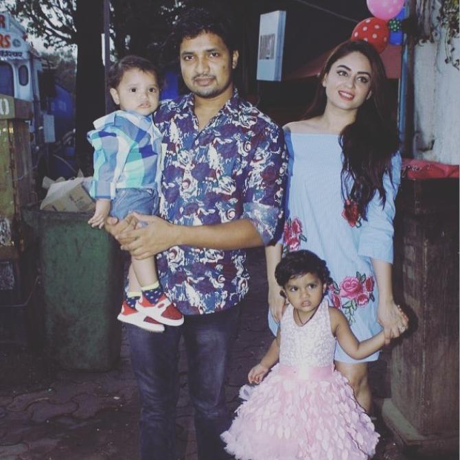 Mahhi Vij and Jay Bhanushali adopt their caretakers' kids