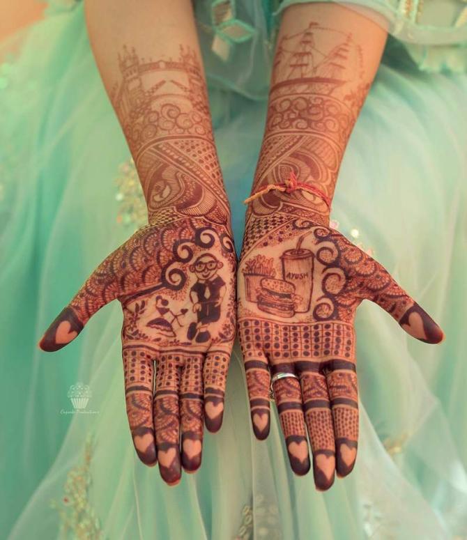 Mehendi designs for full hands