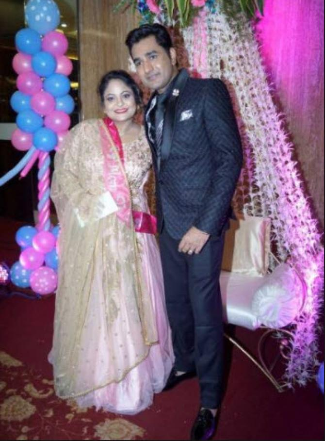 famous comedian mubeen wife baby shower attended by many