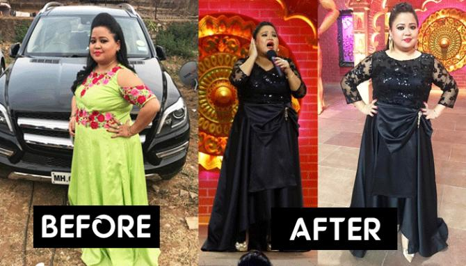 The Secret Behind Bharti Singh's Weight Loss Is No Gym Or ...