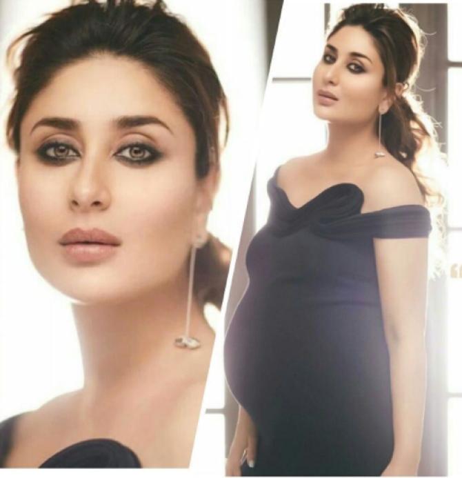 Kareena kapoor khan pregnancy fashion