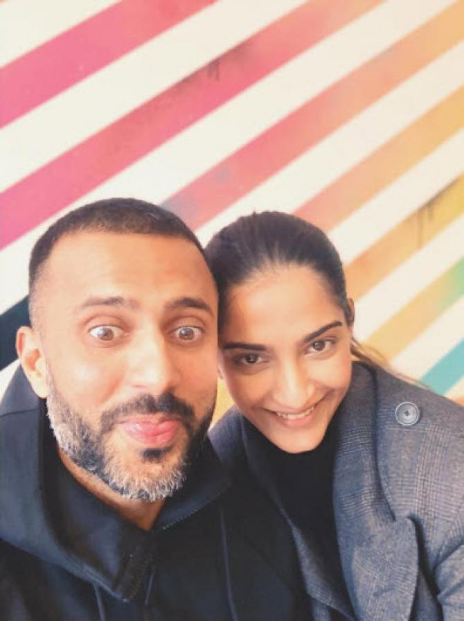 Sonam and Anand Karva Chauth Post