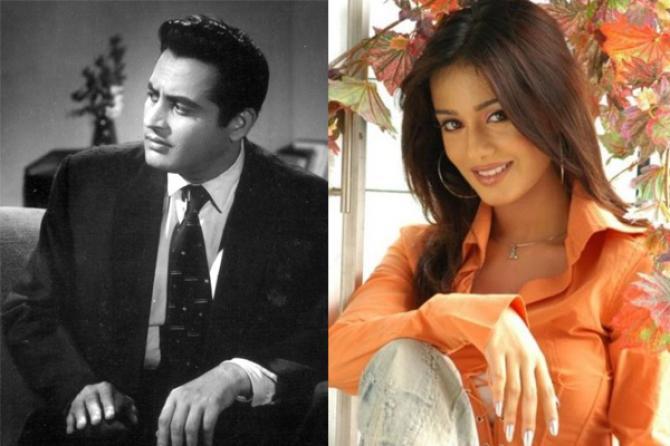 Guru Dutt and Amrita Rao