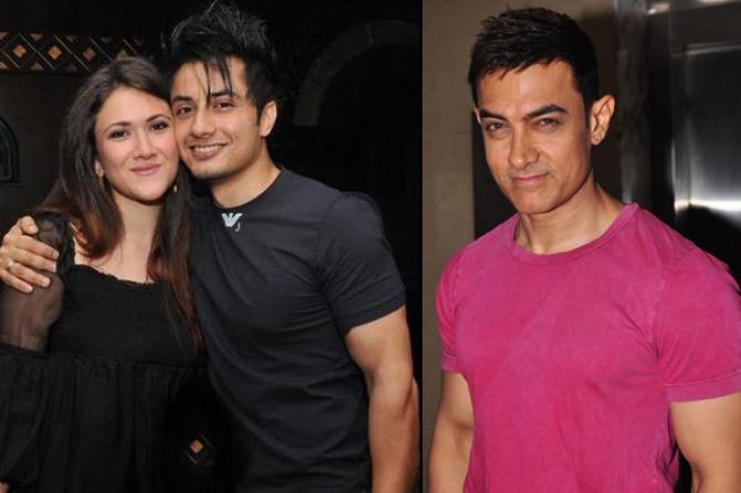 Ali Zafar and Aamir Khan