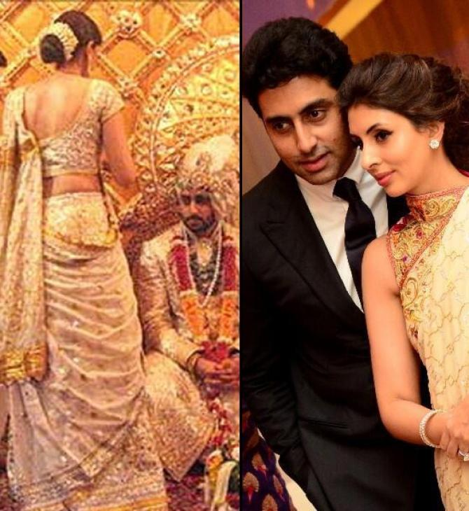 Shweta Nanda At Abhishek Bachchan's Wedding